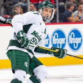 Michigan State's Hirose ready to start NHL career with Wings - Roy