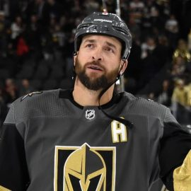 Deryk Engelland Nominee For 2018 19 King Clancy Memorial Trophy